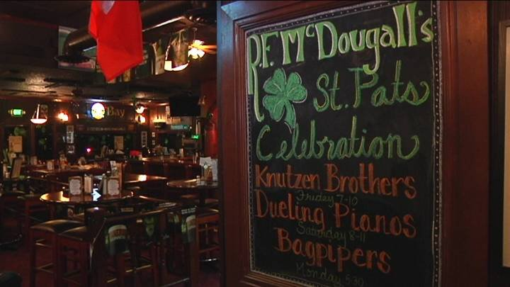 R.F. McDougall's Irish Pub and Eatery wants to help you celebrate the luck of the Irish this weekend.
