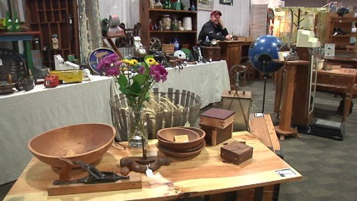 Tri-Citians looking for a taste of the past got their fix Saturday at the antique show in Pasco.