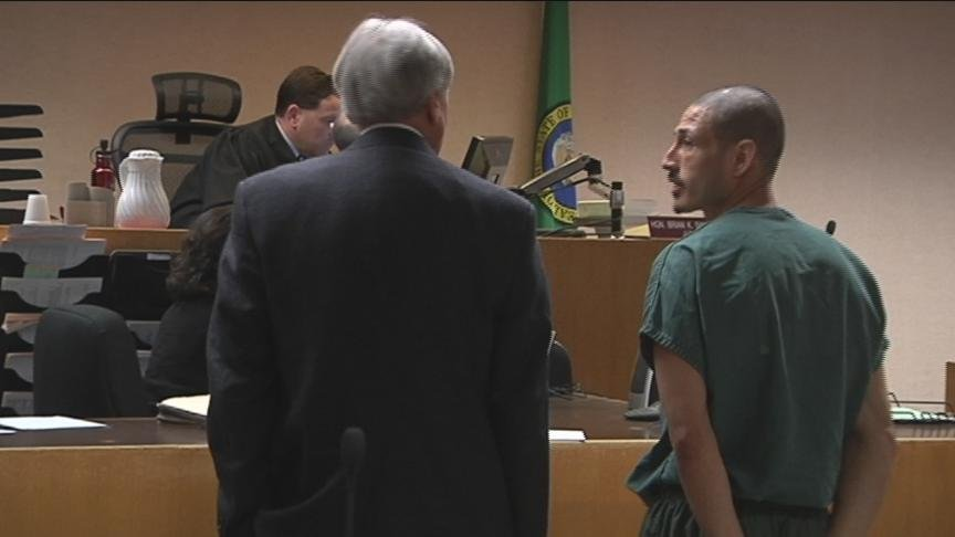 A man convicted of shooting and killing another man at a Yakima taco stand in 2001 was back in court Thursday.
