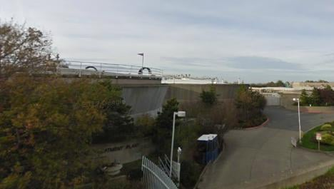 Firefighters in Seattle say they have rescued a man who fell into a tank of sewage.