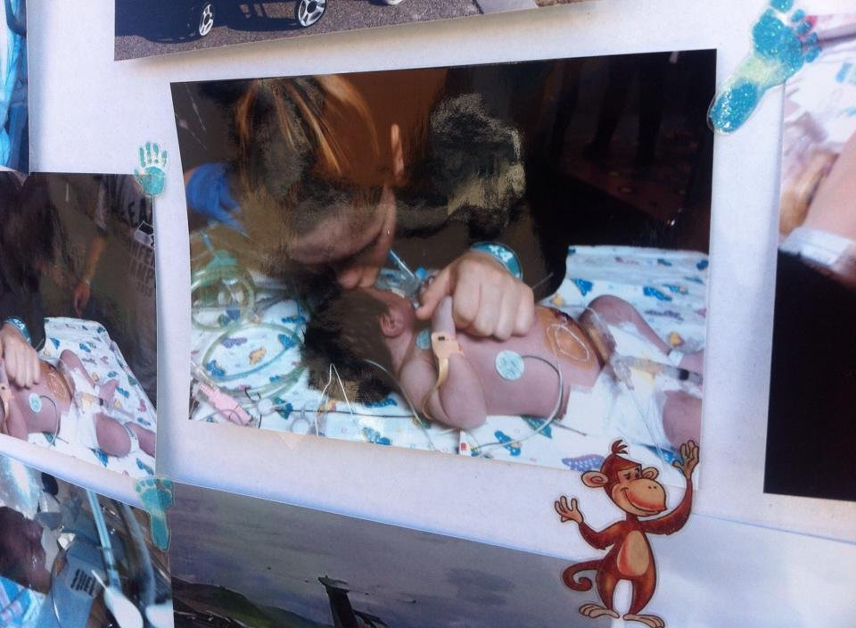 A local family is trying to get through the loss of their baby boy. So, they are spreading the word and raising awareness about congenital heart defects.