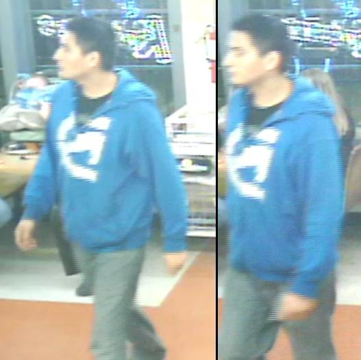 Union Gap Police need your help identifying a man who officers say may be a possible suspect for a theft.