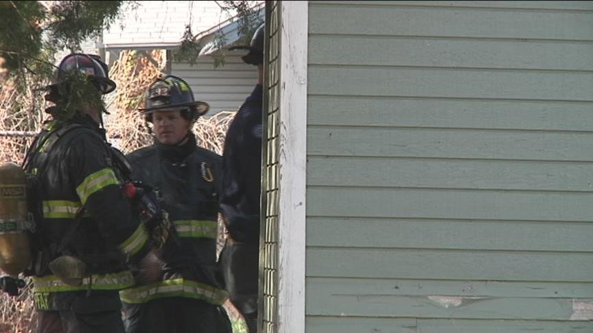 Yakima Firefighters quickly put out a porch fire on the 800 Block of South 11th Avenue before it could do any damage to the inside of the home.