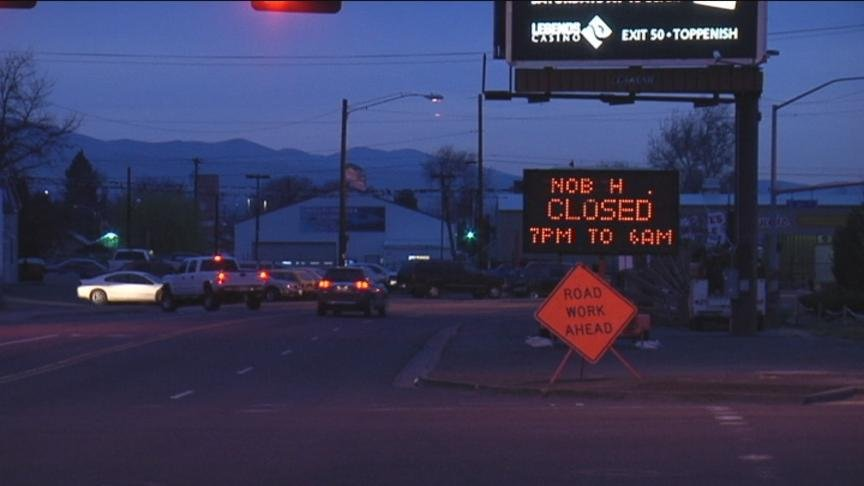 Drivers in Yakima might need to plan ahead when heading out the door.