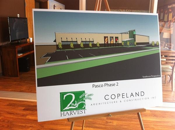 Big things are happening in Pasco for 2nd Harvest. After their brand new food distribution center opened last year, an expansion is now in the works.