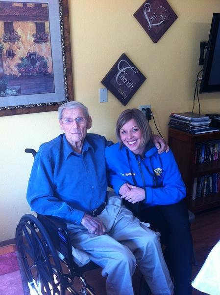 The oldest retired Washington State Patrol trooper was born and raised in the Tri-Cities and still lives in Kennewick.