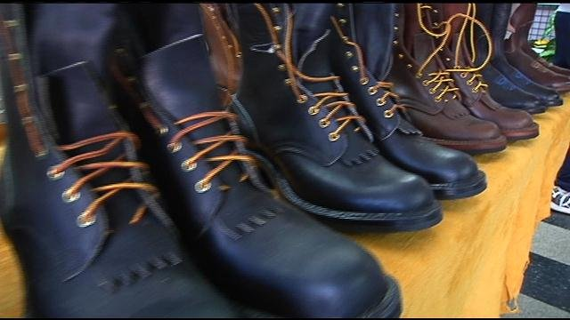 Lee Shinledecker and his wife started D & L Leather Crafts and Boots in Kennewick 42 years ago.