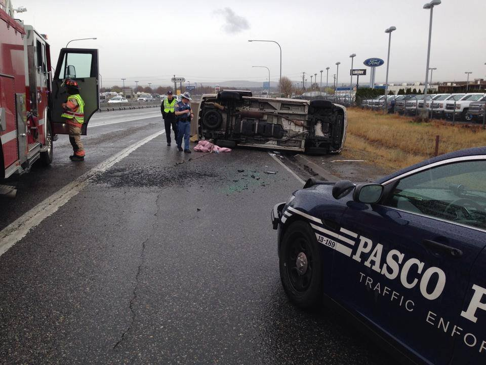 Drivers in Pasco may have experienced some delays Friday after an accident near the Court Street on-ramp.