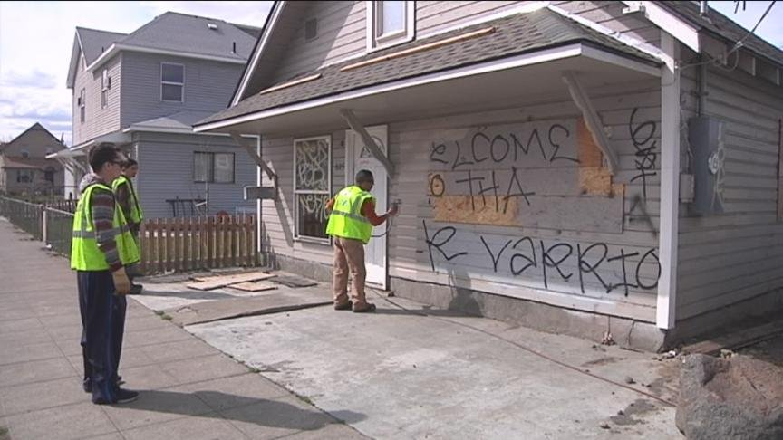 Safe Yakima is kicking of their Graffiti Be Gone campaign Monday, hoping to help rid Yakima of distasteful street paintings.