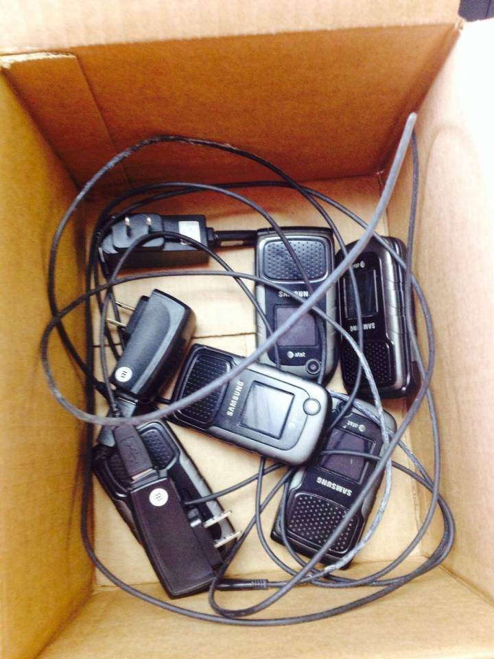 Domestic Violence Services of Benton and Franklin Counties are collecting cell phones.