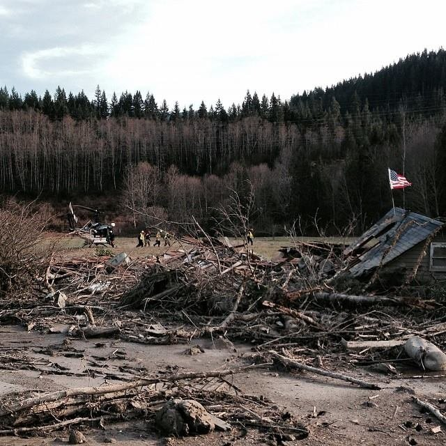 """A Federal Emergency Management Agency spokesman says three disaster relief centers have opened in Snohomish County to provide """"one-stop shopping"""" for those affected by the March 22 Oso mudslide."""