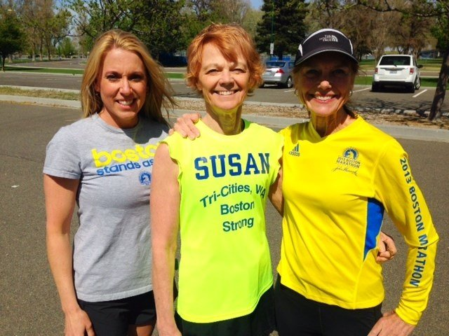 Three Tri-Cities women are set to return to the Boston Marathon one year after the bombings stopped them from finishing.