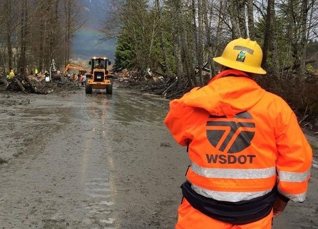 The Transportation Department says it could take one to three months to clear debris from the mile-long stretch of Highway 530 covered by the Oso mudslide.