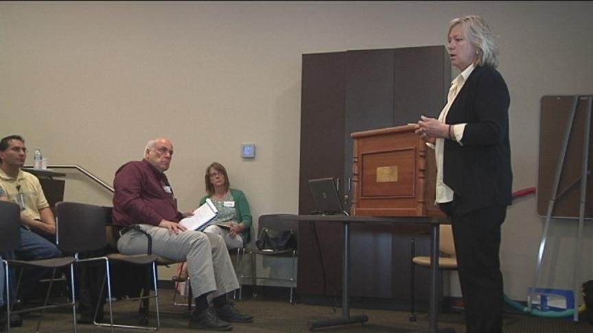 School counselors, mental health professionals and other volunteers received special training Thursday, to help kids who have lost a parent or other close loved one, deal with grief.