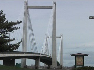 Drivers headed over the Cable Bridge should expect delays this week.