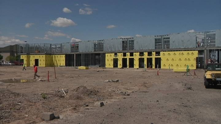 Construction on a new hotel next to the Three Rivers Convention Center is reaching new heights and it's just one way the City of Kennewick is expanding its reach.