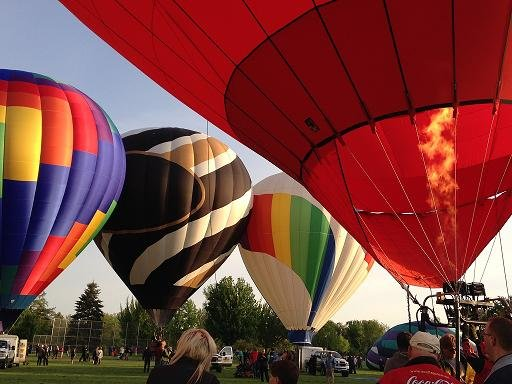 The 40th Annual Walla Walla Balloon Stampede presented by Gesa Credit Union kicked off Thursday morning at Howard Tietan Park in Walla Walla.