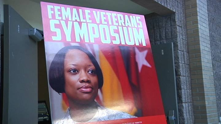 On Friday, CBC hosted the Tri-Cities' first Female Veteran Symposium