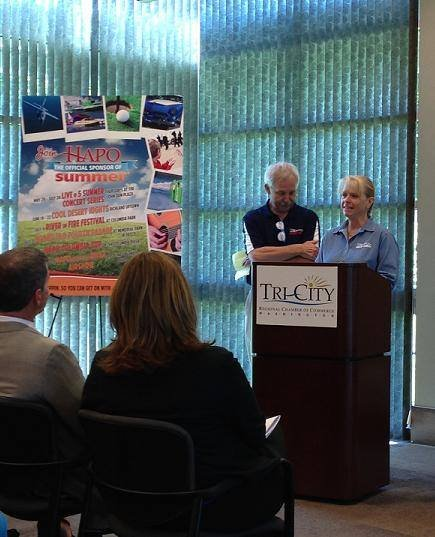 For the last five years HAPO Community Credit Union has helped pay for enough events in the Tri-Cities to be known as the Official Sponsor of Summer. But this year, they're taking it one step further.