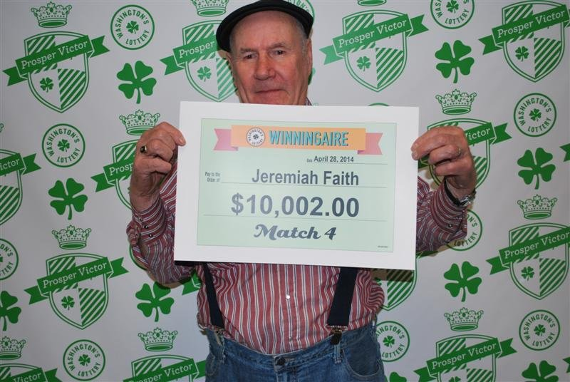Luck is certainly on one Kennewick man's side. Jeremiah Faith has won Washington's Lottery  not just once, but five times in the past four years!