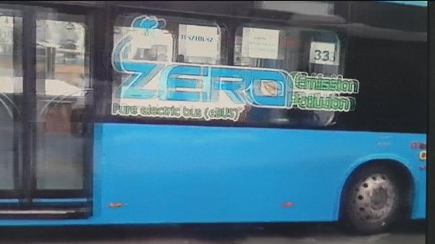 Bus riders in Yakima have a unique opportunity this month. A Chinese company has loaned a battery-powered bus for drivers and riders to test out.