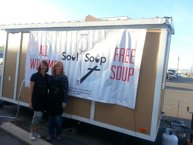 "Local churches are joining forces to feed the homeless by opening a mobile soup kitchen, called ""Soul Soup Tri-Cities."""
