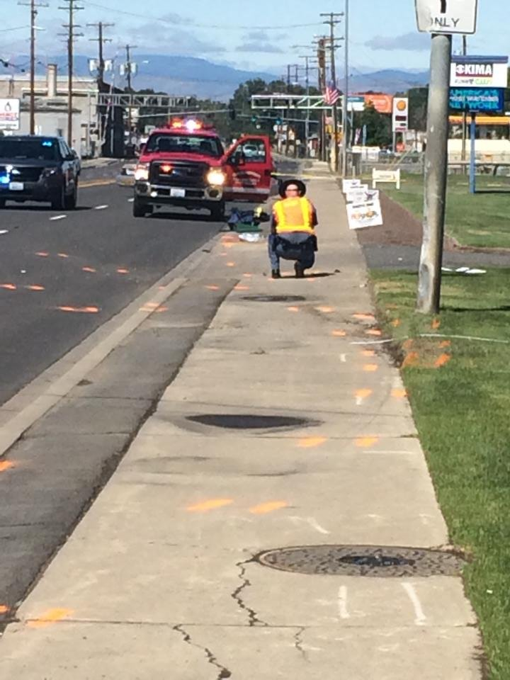Pedestrian dies after hit run accident in yakima swx for City motors of yakima
