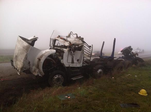 The Washington State Patrol has released more information on Wednesday morning's crash near Spokane.