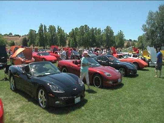 New and classic sports cars are taking over Columbia Park this weekend for the 5th Annual Corvettes on the Columbia.