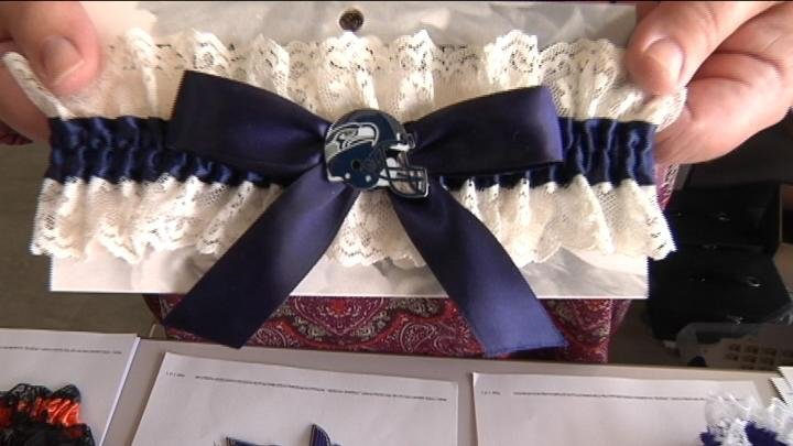 Lets Dance Garters is a business out of the Tri-Cities that has made wedding, graduation, prom and other event garters that are personalized and fun.