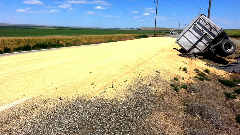 Drivers traveling along Highway 124 Friday may have faced some delays.