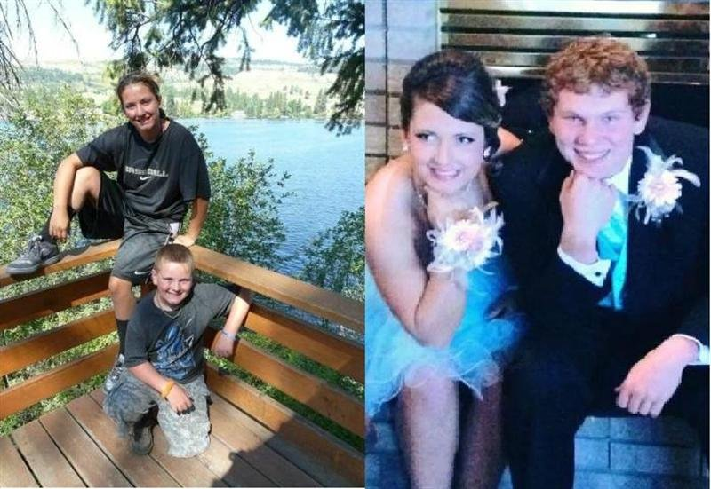 Kate Austin was a junior at Kamiakin High School and Ethan Austin was a sixth grader at Desert Hills Middle School.