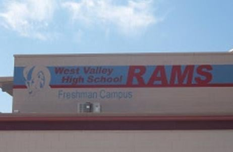 """The West Valley High School Freshman Campus briefly went into a """"working lock down"""" Wednesday morning."""