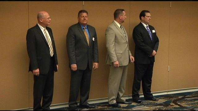 The City of Pasco got a look at the candidates vying for soon to be vacant city manager position.