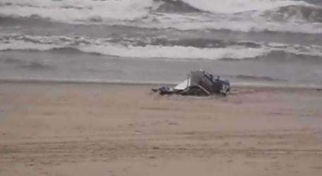 Authorities say a 69-year-old man from Florence, Oregon, and his 15-year-old grandson from Washington state were aboard a small plane that crashed into the Pacific Ocean.