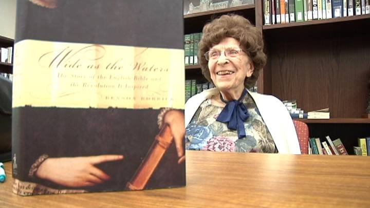 Even a century of knowledge is not enough for 104 year-old Effie Pampaian who accepted an honorary degree this past weekend from Walla Walla University.