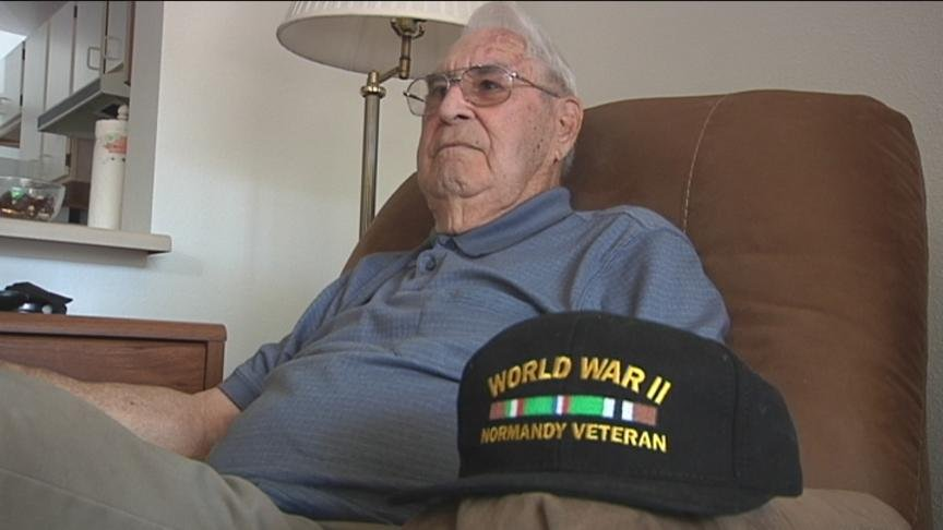 Last month, we brought you the story of Bob Powell, a local World War Two veteran who returned to the beaches of Normandy for the 70th Anniversary of D-Day.
