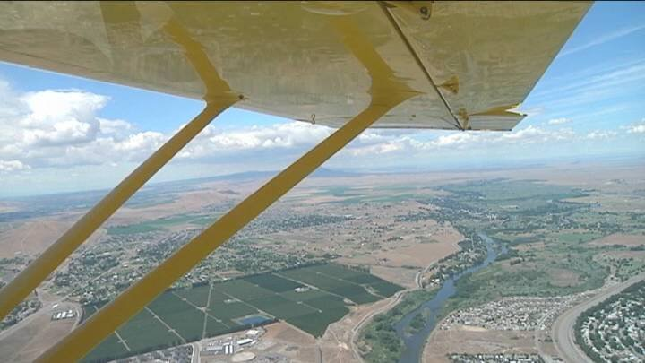 Kids often dream of being able to fly. This weekend at the Richland Fly-In those dreams can come true.