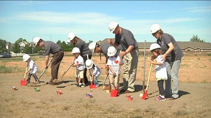 As the Tri-Cities continues to grow, our local school districts are working hard to keep up. Two ceremonies Thursday marked the first steps toward a pair of new schools.
