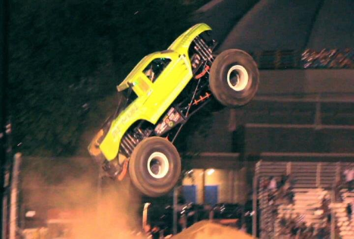 Friday and Saturday night, monster trucks are taking over the State Fair Park in Yakima.