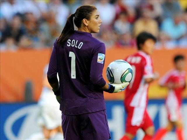 U.S. women's soccer goalkeeper Hope Solo is scheduled to appear in court Monday in connection with her domestic violence arrest at her sister's home in Kirkland, in suburban Seattle.