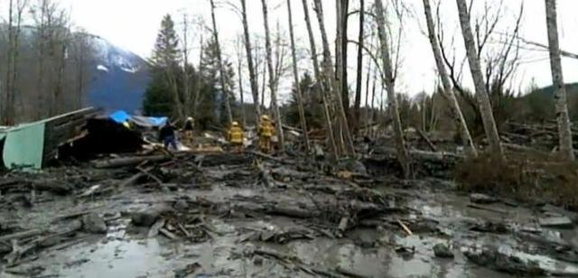 The Snohomish County Council has imposed a six-month ban on new construction in the area of the Oso mudslide and to the east of the slide area in a flood zone.
