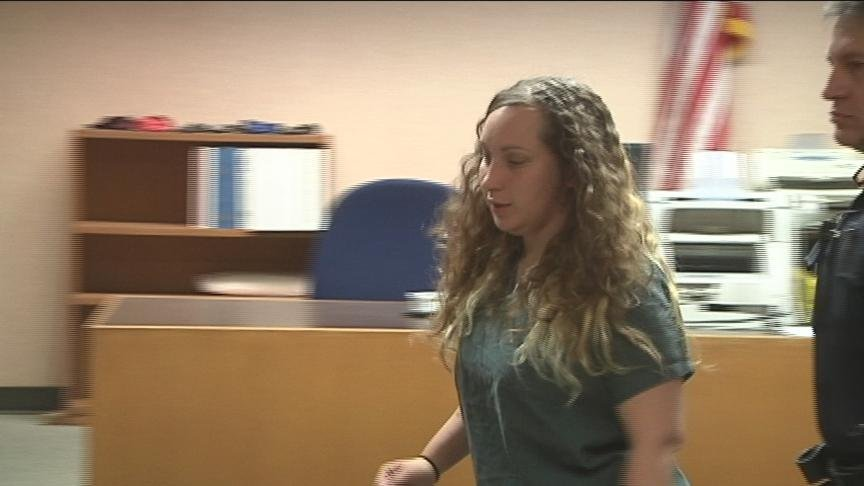 A dramatic scene from a Yakima court room Wednesday as Nicole Fragoso appealed for a lower bail.