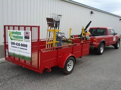 Kennewick Police Recover Stolen Lawn Care Business Items in Pasco.