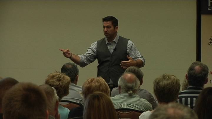 """This week at the Pasco Red Lion some local real estate brokers and agents went through """"boot camp""""."""