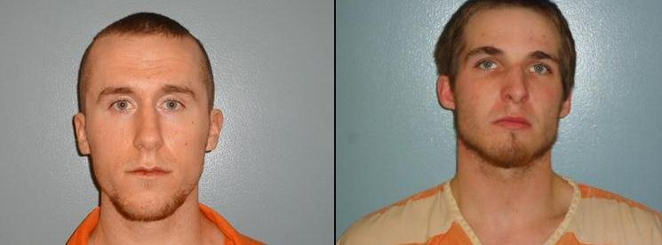 Matthew Hermann and Caleb Scott are awaiting their trials after a deadly home invasion in Milton-Freewater.