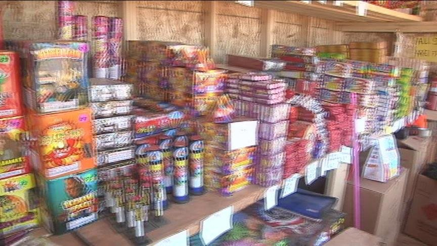 Firefighters say it's not so much the fireworks that are dangerous but how people light them, with things like a lighter.