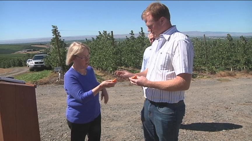 Senator Patty Murray stopped in Wapato Tuesday and explained why immigration is so critical to the Yakima Valley.
