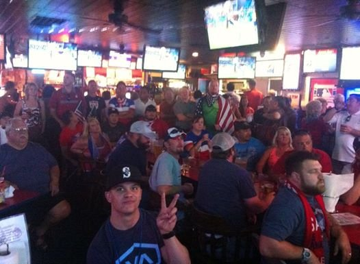 Despite a loss, local soccer fans filled Uncle Sam's Saloon Tuesday in Kennewick to cheer for their team all the way until the final whistle blow.