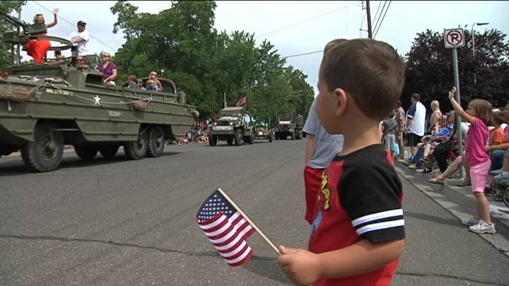The big 4th of July celebrations began Friday morning with a parade starting at Memorial Park.